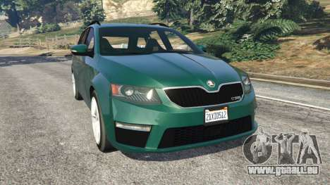 Skoda Octavia VRS 2014 [estate] für GTA 5