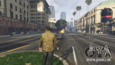 GTA 5 Heat vision Superman 1.1 sechster Screenshot