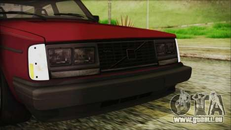 Volvo Turbo 242 Evolution Turbo 1983 für GTA San Andreas obere Ansicht