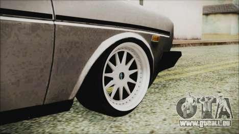 Tofas 131 Mirafiori Edition für GTA San Andreas zurück linke Ansicht