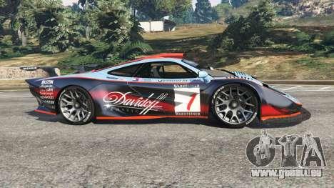 McLaren F1 GTR Longtail [Gulf] pour GTA 5