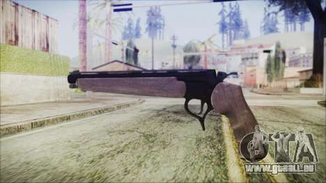 GTA 5 Marksman Pistol - Misterix 4 Weapons für GTA San Andreas zweiten Screenshot