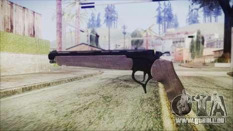 GTA 5 Marksman Pistol - Misterix 4 Weapons pour GTA San Andreas deuxième écran