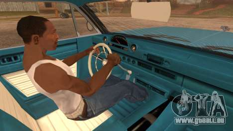 GTA 5 Declasse Clean Voodoo Bobble Version IVF für GTA San Andreas zurück linke Ansicht
