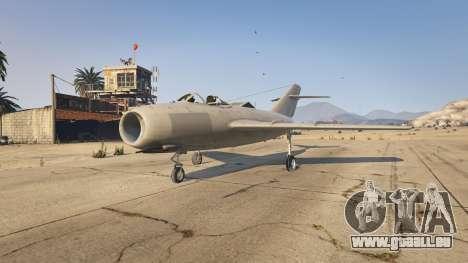 GTA 5 Le MiG-15