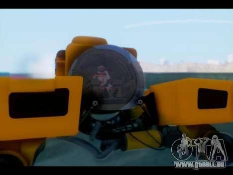GTA 5 Kraken v1 pour GTA San Andreas sur la vue arrière gauche