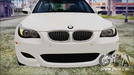 BMW M5 E60 2009 für GTA San Andreas Seitenansicht
