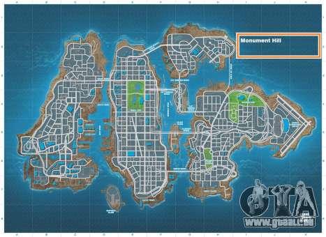Monument Hill Piste pour GTA 4 cinquième écran