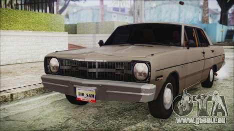 Dodge Dart 1975 pour GTA San Andreas