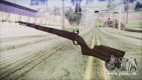 GTA 5 Musket v3 - Misterix 4 Weapons pour GTA San Andreas deuxième écran