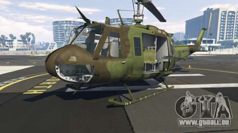 Bell UH-1D Huey Royal Canadian Air Force pour GTA 5