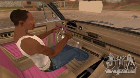 GTA 5 Declasse Clean Voodoo pour GTA San Andreas vue de droite