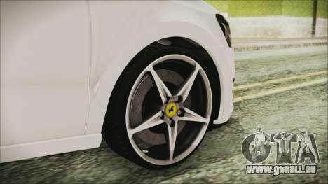 Volkswagen Polo 1.2 TSI für GTA San Andreas zurück linke Ansicht