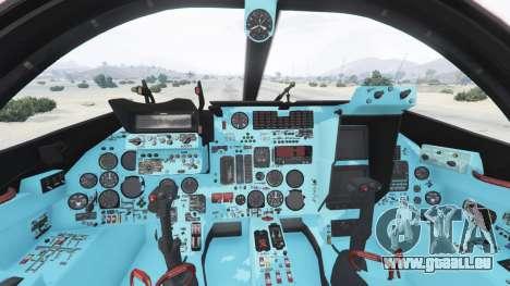 GTA 5 Su-24M cinquième capture d'écran