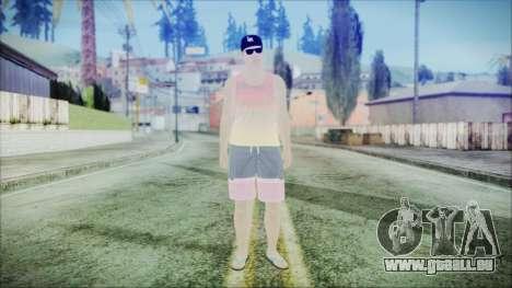 GTA Online Skin 31 für GTA San Andreas zweiten Screenshot