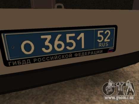 VAZ 2110 DPS für GTA San Andreas Seitenansicht