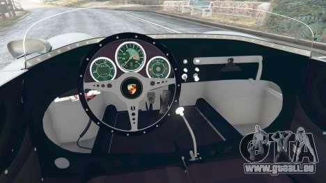 GTA 5 Porsche 550A Spyder 1956 hinten rechts