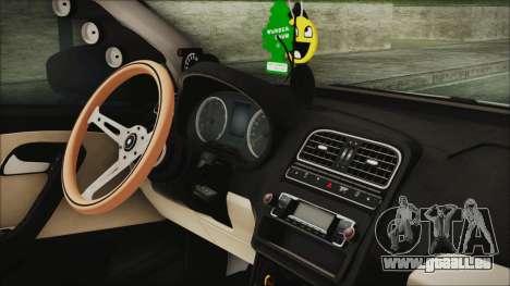 Volkswagen Polo 1.2 TSI für GTA San Andreas rechten Ansicht