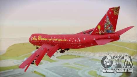 Boeing 747-100 Merry Christmas pour GTA San Andreas laissé vue