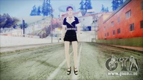 Lara Flaca Business Suit pour GTA San Andreas deuxième écran