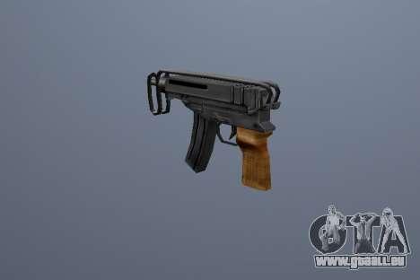 PP Scorpion pour GTA San Andreas troisième écran