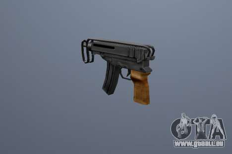 PP Skorpion für GTA San Andreas dritten Screenshot