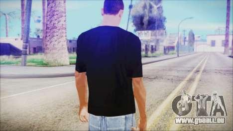 T-Shirt Cane Christmas pour GTA San Andreas troisième écran