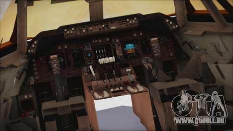 Boeing 747-237Bs Air India Vikramaditya für GTA San Andreas rechten Ansicht