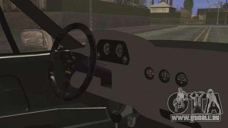 Ferrari F40 Gas Monkey pour GTA San Andreas vue de droite