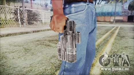 Fallout 4 Heavy 10mm Pistol für GTA San Andreas dritten Screenshot