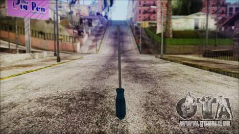 Screwdriver HD für GTA San Andreas zweiten Screenshot