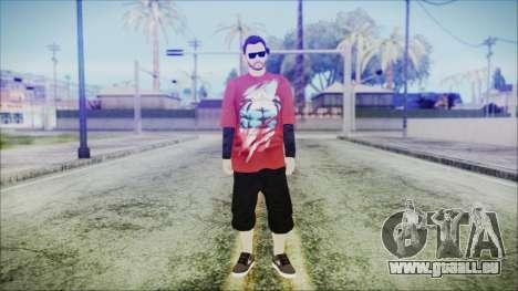 GTA Online Skin 27 pour GTA San Andreas deuxième écran