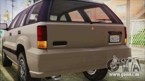GTA 5 Canis Seminole IVF für GTA San Andreas Seitenansicht