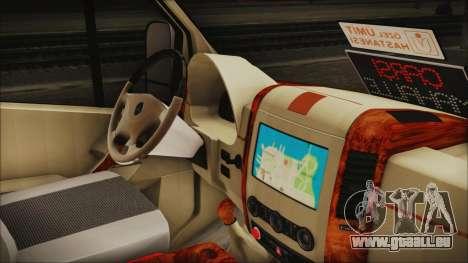 Mercedes-Benz Sprinter 26 M 0009 pour GTA San Andreas vue de droite
