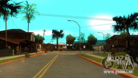 ENB Settings Janeair 1.0 Light pour GTA San Andreas cinquième écran