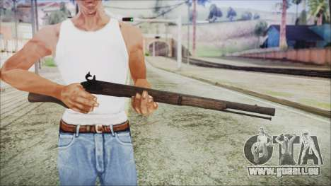 GTA 5 Musket v3 - Misterix 4 Weapons pour GTA San Andreas troisième écran
