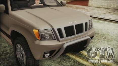 GTA 5 Canis Seminole IVF für GTA San Andreas Rückansicht