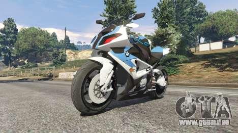 GTA 5 BMW HP4 rechte Seitenansicht