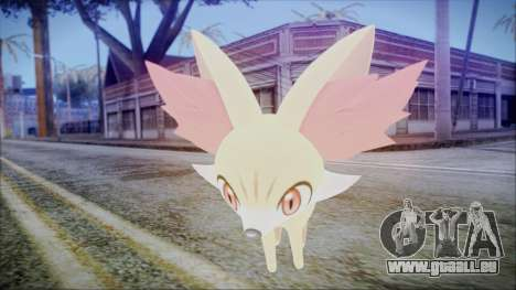 Fennekin (Pokemon XY) pour GTA San Andreas troisième écran