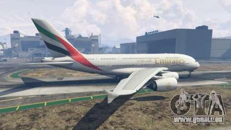 GTA 5 Airbus A380-800 zweite Screenshot