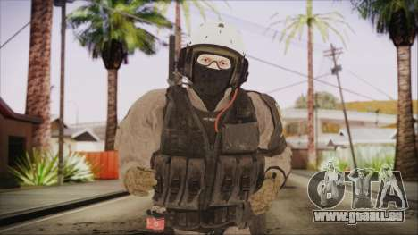 XOF Soldier (Metal Gear Solid V Ground Zeroes) pour GTA San Andreas