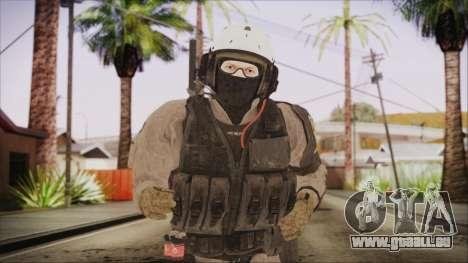 XOF Soldier (Metal Gear Solid V Ground Zeroes) für GTA San Andreas