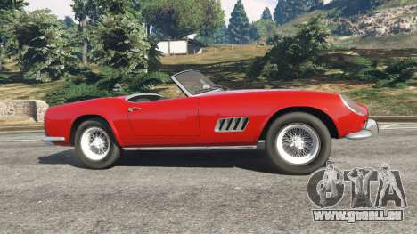 GTA 5 Ferrari 250 California 1957 linke Seitenansicht