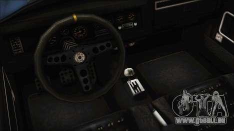 GTA 5 Declasse Mamba für GTA San Andreas Rückansicht