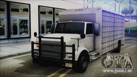 Indonesian Benson Truck In Real Life Version für GTA San Andreas
