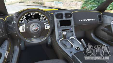 Chevrolet Corvette ZR1 für GTA 5