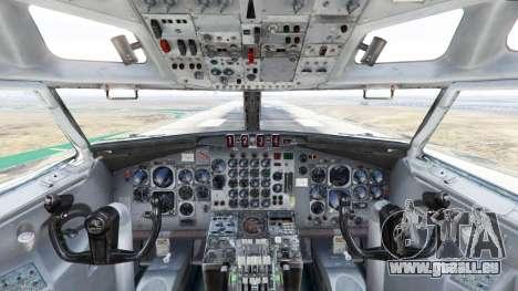 GTA 5 Boeing E-3 Sentry cinquième capture d'écran