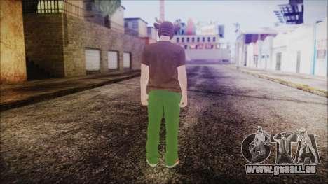 GTA Online Skin 11 pour GTA San Andreas troisième écran