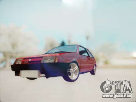 VAZ 2108 Turbo für GTA San Andreas linke Ansicht