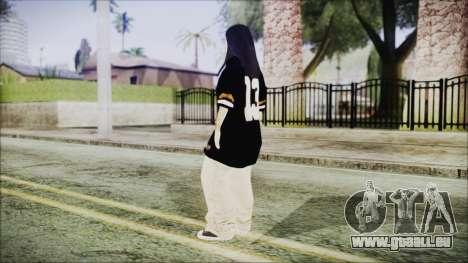 GTA 5 Online The Heist Gasmask Blue für GTA San Andreas dritten Screenshot